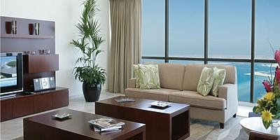 Wohnbeispiel Wohnbereich - JA Oasis Beach Tower