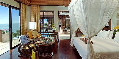 Pimalai Resort & Spa - Pool Villa Schlafzimmer