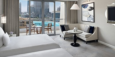 Premier (Club) Fountain View - Twin Room