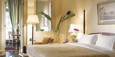 Raffles Hotel - Courtyard Suite Schlafzimmer