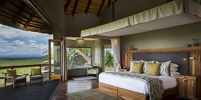 Cliff Lodge Suite 1 - Ulusaba Private Game Reserve