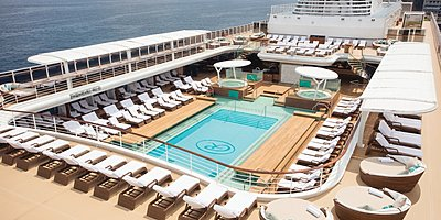 Seven Seas Explorer - Pool Deck