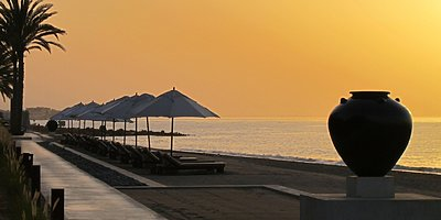 Strand des The Chedi - Muscat