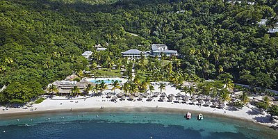 Aussenansicht - Sugar Beach, A Viceroy Resort
