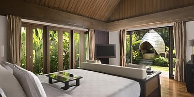Ayung Villa Schlafzimmer - The Samaya Ubud