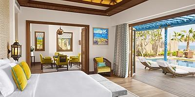 Two Bedroom Sea View Pool Villa - Banana Island Resort by Anantara
