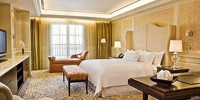 Deluxe Sea View - The Westin Mina Seyahi Beach Resort & Marina
