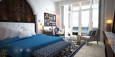 Zimmerbeispiel - Hilton Salwa Beach Resort