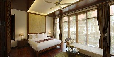 Anantara Angkor - Schlafzimmer Deluxe Room