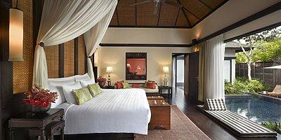 Anantara Mai Khao - Pool Villa Schlafzimmer