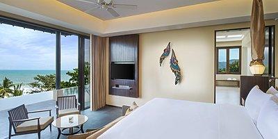 Vana Belle, A Luxury Collection Resort - Ocean View Pool Suite Schlafzimmer