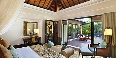 St. Regis Lagoon Villa - Schlafzimmer