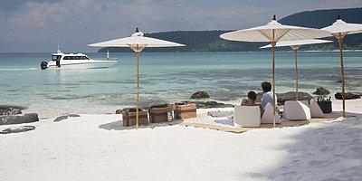 Song Saa Private Island - Strand auf Nachbarinsel