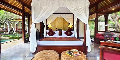 1 BR Village Suite Villa - Schlafzimmer