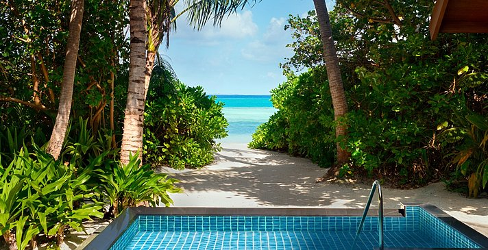 1 BR Beach Villa Private Pool - Shangri-La`s Villingili Resort and Spa