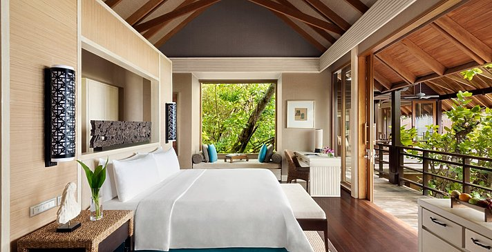 1 BR Ocean Tree House Villa Private Pool Schlafzimmer - Shangri-La`s Villingili Resort and Spa
