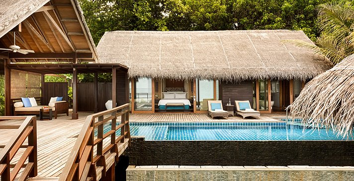 1 BR Ocean Tree House Villa Private Pool - Shangri-La`s Villingili Resort and Spa
