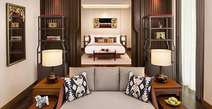 2 BR Pool Villa Schlafzimmer - Anantara Layan Phuket Resort