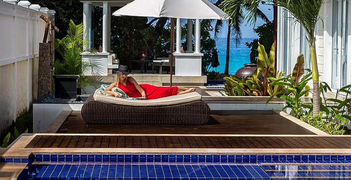 2 BR Royal Ocean View Pool Villa - Banyan Tree Seychelles