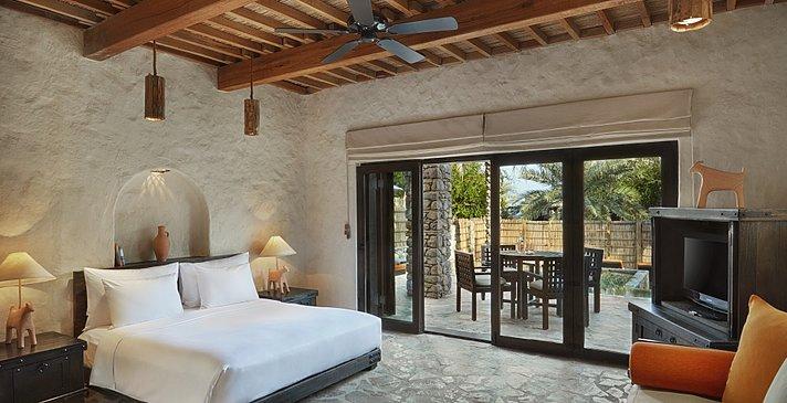 2 Bedroom (Beachfront) Zighy Pool Villa - Six Senses Zighy Bay