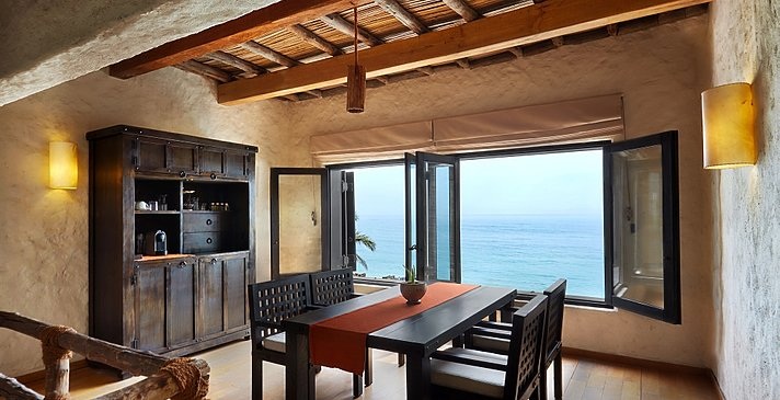 2 Bedroom Beachfront Zighy Pool Villa Suite - Six Senses Zighy Bay