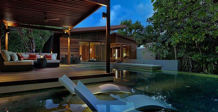 2 Bedroom Park Pool Villa Außenbereich - Park Hyatt Maldives Hadahaa