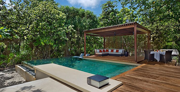 2 Bedroom Park Pool Villa Pooldeck - Park Hyatt Maldives Hadahaa