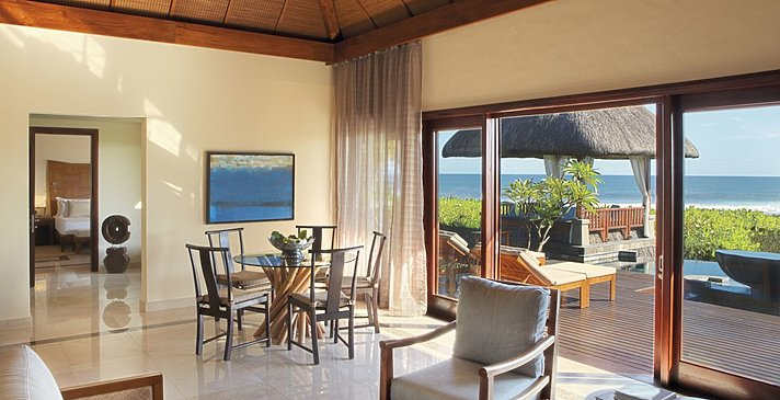 2 Bedroom Oceanfront Suite Villa mit Pool - Shanti Maurice Resort & Spa