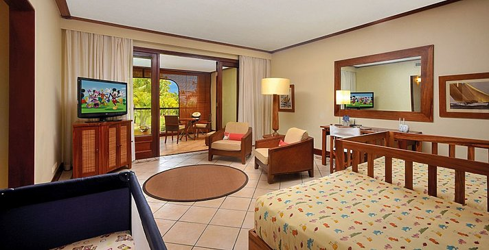 2 Bedroom Tropical Family Suite - Paradis Beachcomber Golf Resort & Spa