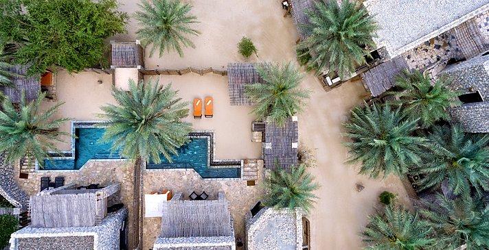 2 Bedroom Zighy Pool Villa - Six Senses Zighy Bay