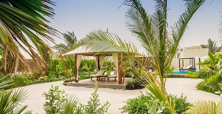 Al Naseem Tented Pool Villa - Al Hamra Beach