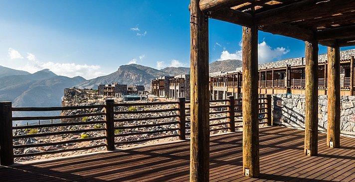 Jabal Terrace Suite Terrasse - Alila Jabal Akhdar