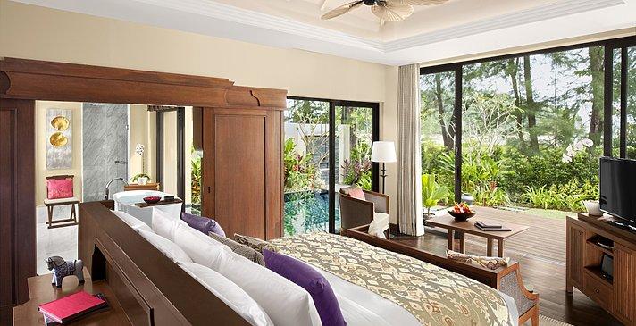 Beach Front Layan Pool Villa Schlafzimmer - Anantara Layan Phuket Resort - Anantara Layan Phuket Resort
