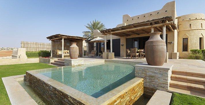 Außenaufnahme der Villa - Royal Pavilion Villas by Qasr Al Sarab