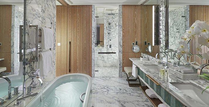 Badezimmer Superior und Deluxe Kategorien