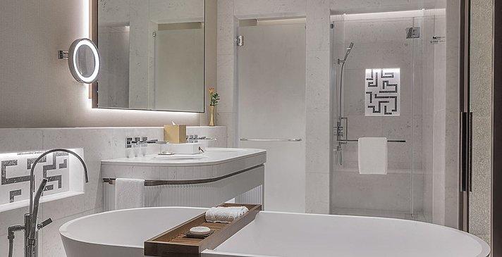 Badezimmer Deluxe Room