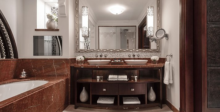 Badezimmer Executive/Gold Club Suite