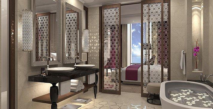 Badezimmer - Fairmont Abu Dhabi Marina