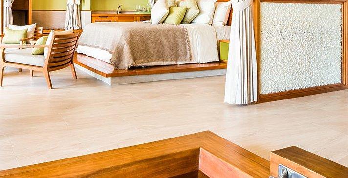 Badezimmer Garden Pool Villa - Fusion Resort Phu Quoc