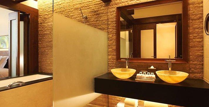 Badezimmer Luxury Room - Sofitel Dubai The Palm
