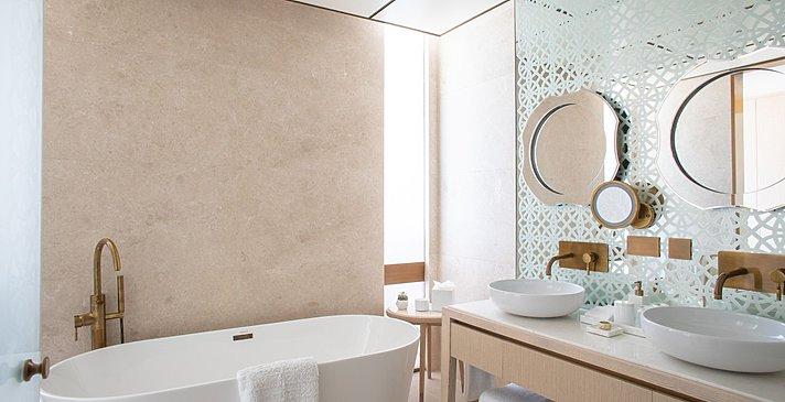 Badezimmer Ocean - Jumeirah Saadiyat Island Resort, Abu Dhabi
