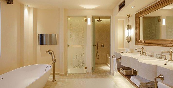 Badezimmer One Bedroom Pool Villa - Al Wathba