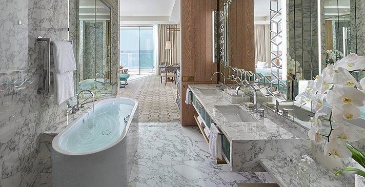 Badezimmer Premier Sea View - Mandarin Oriental