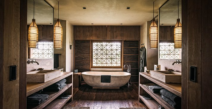 Badezimmer - Villa - Phum Baitang