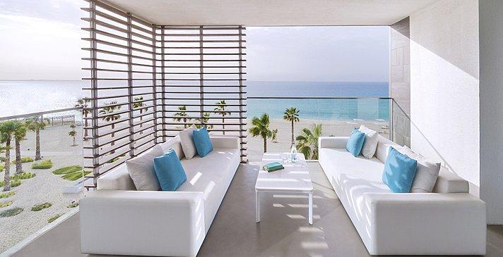 Balkon Luux Suite Sea View - Nikki Beach Resort & Spa Dubai