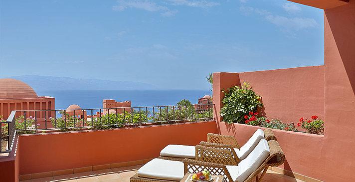 Balkon Zitadelle - The Ritz-Carlton, Abama