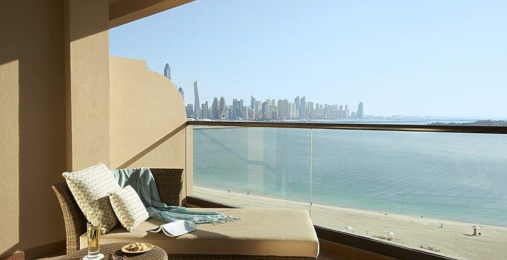 Balkon der Palm Sea View Zimmer