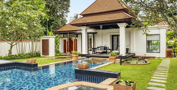 Spa Sanctuary Pool Villa - Banyan Tree Phuket