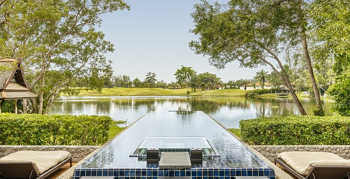 Double Pool Villa Pool - Banyan Tree Phuket