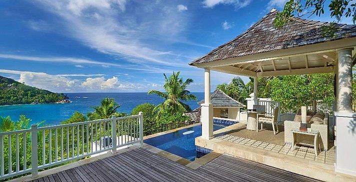 Sanctuary Ocean View Pool Villa - Banyan Tree Seychelles